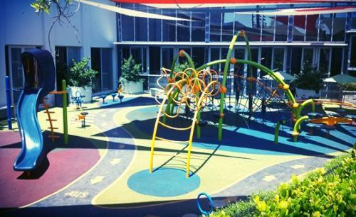 circles conventional playground
