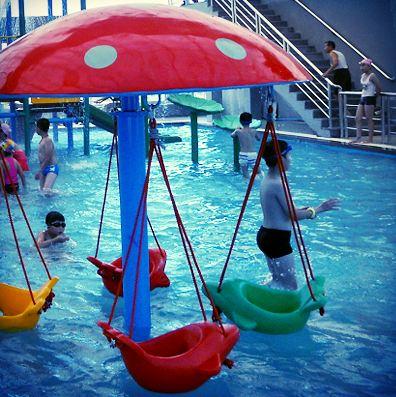 dolphin spray park
