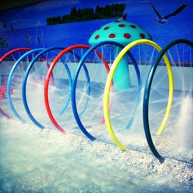hoops spray park
