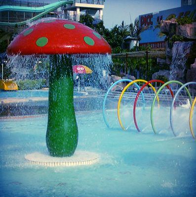 mushroom spray park