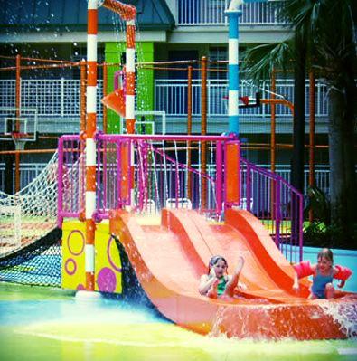 slide spray park