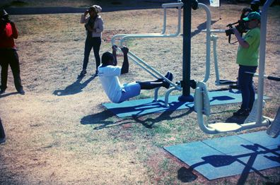 Parallel Bars Exercise